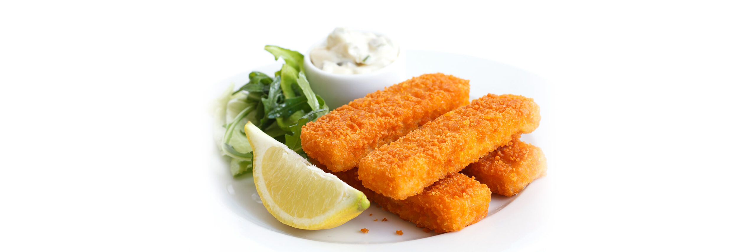 image of a plate of fish fingers