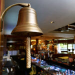 Closing time bell in UK pub
