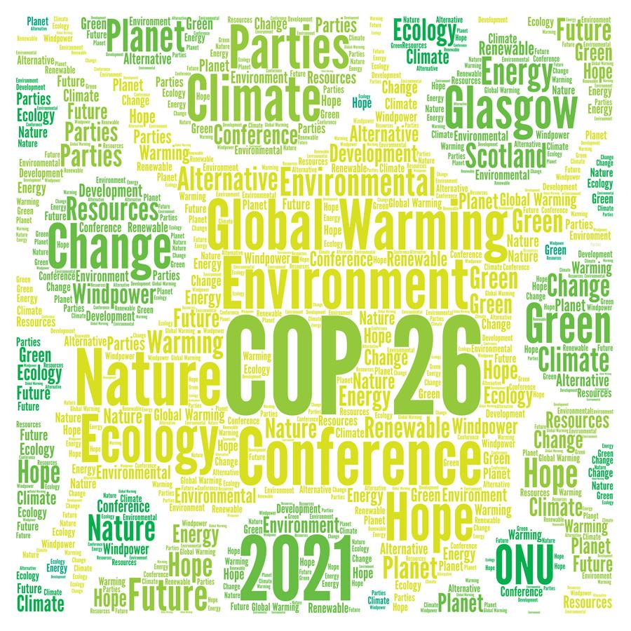 Glasgow climate summit graphic