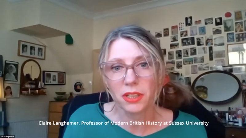 Claire Langhamer video still